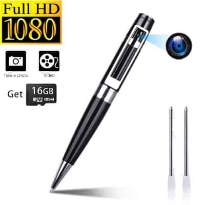 Spy Camera Pen Hidden Cameras Portable Video Recorder