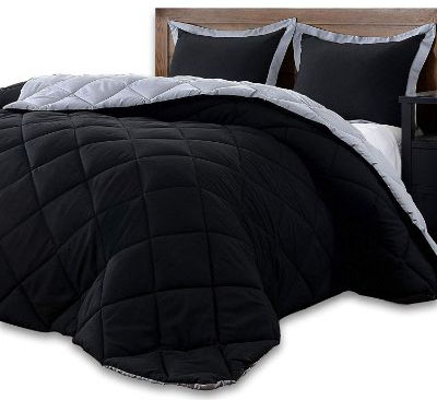 downluxe Lightweight Solid Comforter Set