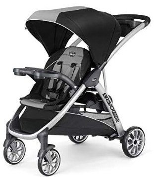 Chicco BravoFor2 Standing:Sitting Double Stroller