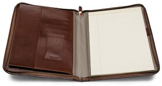 Maruse Leather Padfolio Executive Leather Writing Portfolio