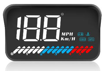 TIMPROVE 3.5'' Universal Car HUD Head Up Display