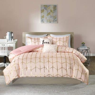 Intelligent Design Raina Comforter Set Full-Queen Size
