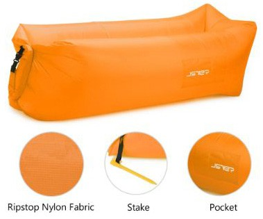 JSVER Inflatable Lounger Air Sofa with Portable Package