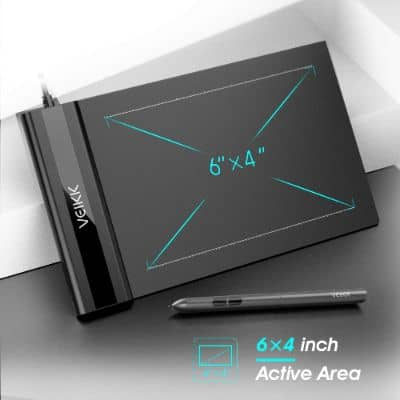 OSU Tablet VEIKK S640 Ultra-Thin 6x4 Inch Graphics Drawing Tablet