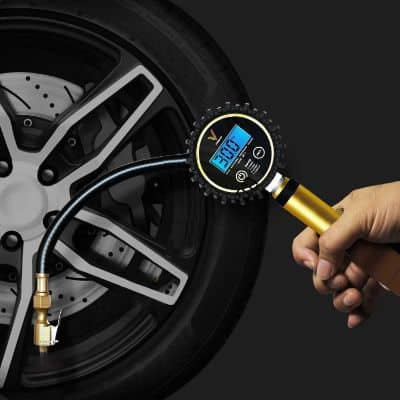 Vondior Digital Tire Inflator with Pressure Gauge
