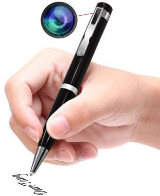 Daretang Hidden Camera 1080P HD Spy Camera Pen, Video Recording Wireless Security Camera