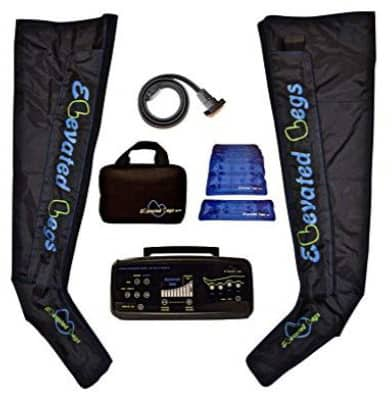 Elevated Legs Athlete Recovery Boot System for Air Compression Massage