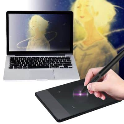 Huion 420 Pen Tablet 4-by-2.23 Graphics Drawing Tablet