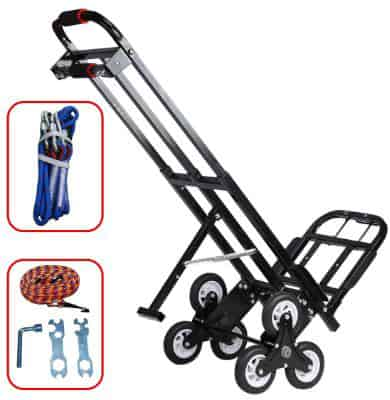 Mecete Enhanced Stair Climbing Cart Portable