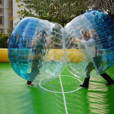 HI SUYI diam 1.5m-1.2m Giant Inflatable Human Bumper Bubble Soccer Ball
