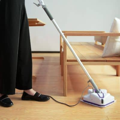 LIGHT 'N' EASY Steam Mop, Powerful Floor Steamer Cleaner Mopper