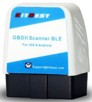OBD2 Scanner, Bluetooth OBD Scan Tool for iOS (for iPhone:iPad) & Android Devices, Bluetooth 4.0