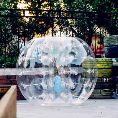 Popsport Inflatable Bumper Ball 5FT Bubble Soccer Ball