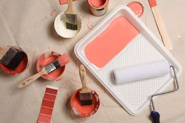 Precision Defined Self-Lock Paint Roller Frame and Roller Cover Set, with Durable Anti-Fatigue Soft Grip Handle