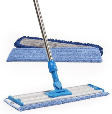 18 Professional Microfiber Mop | Stainless Steel Handle