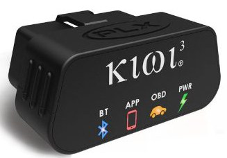 PLX Devices Kiwi 3 Bluetooth OBD2 OBDII Diagnostic Scan Tool for Android, Apple, Windows