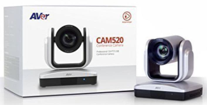 AVer Information CAM520 12X USB PTZ Plug-N-Play Conference Camera