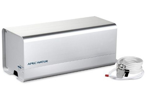 APEC Portable Countertop Reverse Osmosis Water Filter System with Case, Installation-Free