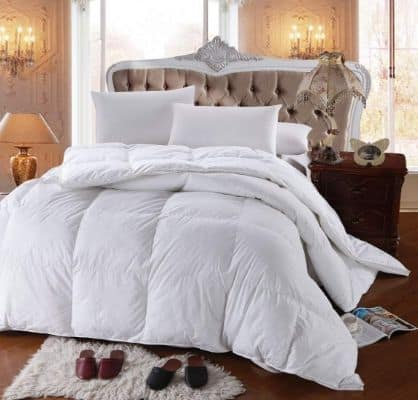Royal Hotel's 300 Thread Count King Size Goose Down Alternative Comforter