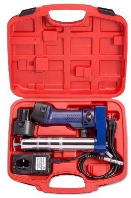 Neiko 12000A 12V Cordless Grease Gun, 6500 PSI | Dual Ni-Cd Rechargeable Batteries