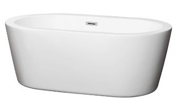 Wyndham Collection Mermaid 60 inch Freestanding Bathtub