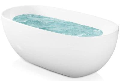 AKDY F277 Bathroom White Color Free Standing Acrylic Bathtub