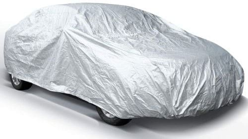Ohuhu Car Covers for Sedan Outdoor, 2019 Upgrade Car Cover