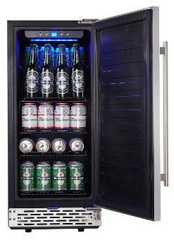 Phiestina 15 Inch Built-in Beer Froster Refrigerator