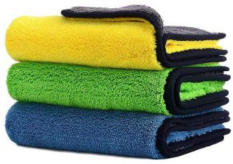 Car Drying Towel, Honmay Lint - Free Microfiber Cleaning Cloth