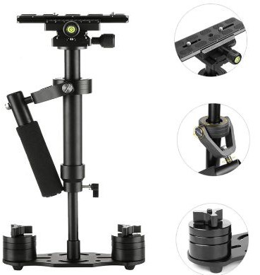 SUTEFOTO S40 Handheld Stabilizer Steadicam Pro Version for Camera Video DV DSLR