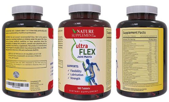UltraFlex - Joint Supplement with Glucosamine Chondroitin Plus MSM