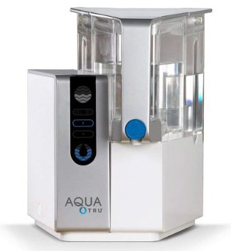 AQUA TRU Countertop Water Filtration Purification System