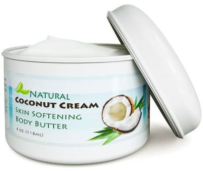 Coconut Oil Body Butter for Stretchmarks & Scars