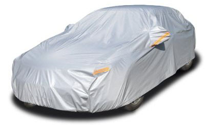 Kayme Four Layers Waterproof All Weather Car Covers