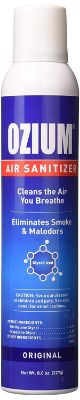Ozium 805539 1-Piece Air Freshener & Sanitizer
