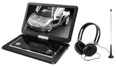 15.6'' Inch TV :portable DVD All Multi Region all zones HD Swivel Portable DVD Player SYDVD9113TV