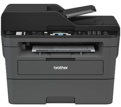 Brother Monochrome Laser Printer, Compact All-In One Printer, Multifunction Printer, MFCL2710DW