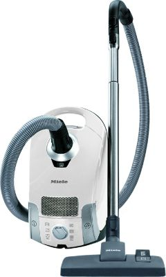 Miele Pure Suction Canister Vacuum, Lotus White