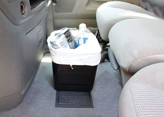 Auto Car Vehicle Garbage Can Trash Bin Waste Container Quality Plastic EXTRA LARGE