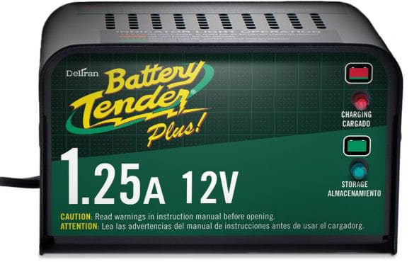 Battery Tender Plus 021-0128, 1.25 Amp Battery Charger
