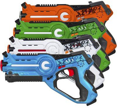 Best Choice Products Infrared Laser Tag Blaster Set for Kids & Adults
