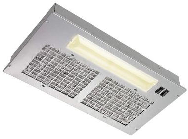 Broan Aluminum Power Pack Range Hood Insert, Exhaust Fan, and Light Combo