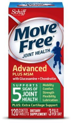 Glucosamine & Chondroiton Plus MSM Advanced Joint Health Supplement Tablets