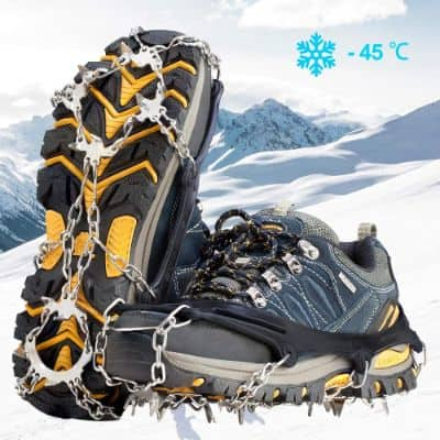 Ice Cleats Crampons Traction Snow Grips for Boots Shoes