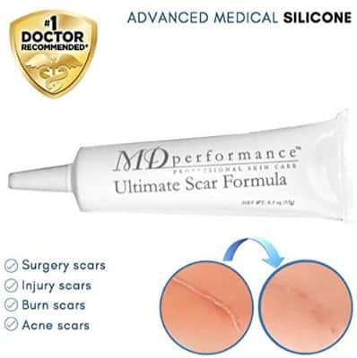 Ultimate Scar Formula - MD Performance Advanced Silicone Scar Removal Gel