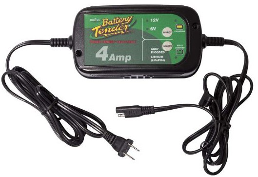 Battery Tender 022-0209-DL-WH 4A Selectable Charger