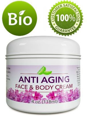 Natural Anti-Aging Cream for Face & Neck – Daily Facial Moisturizer