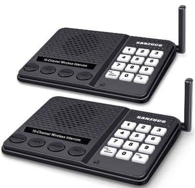 [New Version] Wireless Intercom System for Home - Long Range 1 Mile Home Intercom System