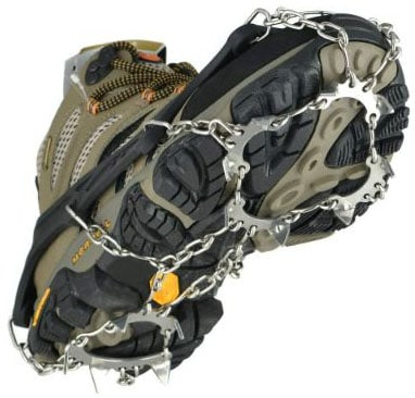 Uelfbaby 19 Spikes Crampons Ice Snow Grips Traction Cleats