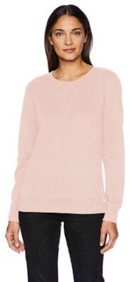 Amazon Essentials Women's French Terry Fleece Crewneck Sweatshirt